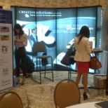 Creative Solutions Services, LLC photo: our booth at SIA's CWS Conference