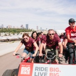 2015 Big Bike fundraiser for Heart & Stroke Foundation