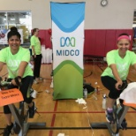 Midco employees participate in the Great American Bike Race benefiting Children's Miracle Network.