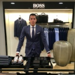 HUGO BOSS photo: Sobre et chic