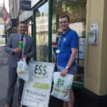photo of ESS Employment, ESS helps a local school with there sports day suppling drink bottles
