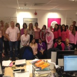 photo of Sellick Partnership Limited, Wear in Pink Breast Cancer Research Campaign day