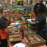 Cashier Appreiciation Day Lunch
