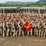U.S. Marine Corps photo: End of a deployment