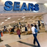 Sears photo: The store entrance