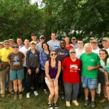Associates from the Omni Grove Park Inn volunteered their time to help Habitat for Humanity
