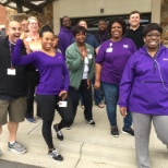 Novant Health photo: Novant Health UAP security team members. #NationalWalkingDay