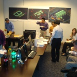 Bechtel photo: A holiday lunch