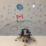 Desire2Learn Incorporated photo: Replica of the moon landing on the 5th floor! *Not historically accurate ;)