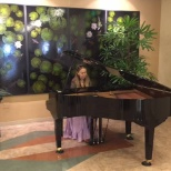 Good Samaritan Hospital photo: A treat for patients, visitors and employees! A professional piano player visiting Good Sam San Jose