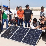 Seminar of installation solar panet