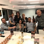 Deacom, Inc. photo: Annual wing bowl and craft brew tasting after hours