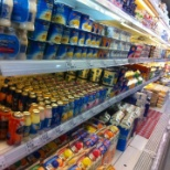 Dairy Products And Juice Section