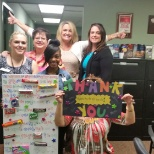 Our Housekeeping Management team celebrates National Housekeeping Week with a special THANK YOU!!!