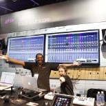 Avid Team at NAMM