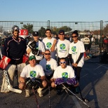 Our 2014 Road Hockey to Conquer Cancer team who raised over $10,000 for the Princess Margaret!