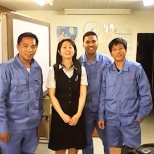 Mitsubishi Heavy Industries photo: Sensia ehama san....  And batch mate