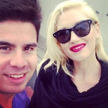 Gwen Stefani drops by our Santa Monica Seafood Market & Cafe in Santa Monica, Ca