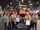 Massey Furgeson earned two major awards at the 2012 Hungarian Farm Machinery Expo