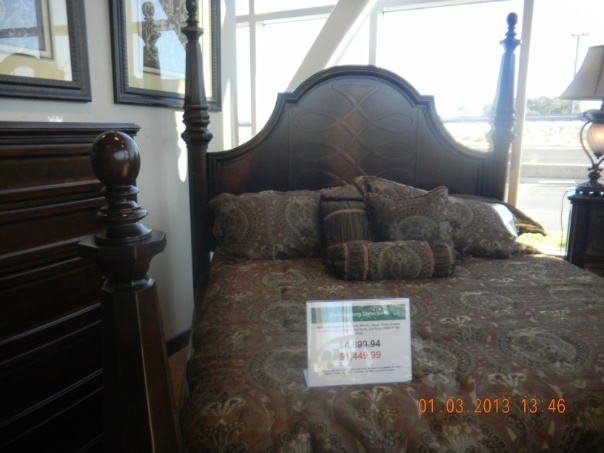 The bed I purchase