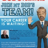 We encourage you to find out why so many people are talking about careers Bob's Discount Furniture!