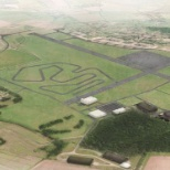 An artist impression of how our Hullavington airfield site will look.
