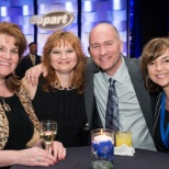 photo of Copart, Inc, CEO Jay Adair with a few of our awesome Employees during our annual recognition event.