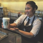 Giving the customer not just coffee but passion