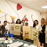 Digital City - Korean folk painting class