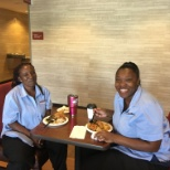 McNeill Hotel Company photo: TownePlace Auburn team members enjoying their delicious Thanksgiving Luncheon!