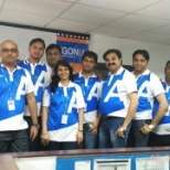 Team Photo at Office
