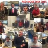 Raising money for those in need whilst celebrating Red Nose Day, 2015