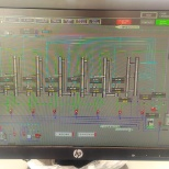 Industrial Automation photo: Evaporator plant overview scada screen