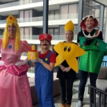Our Digital Marketing Team dressed up for Halloween