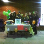 Our Customer Appreciation Week with the girl scouts.