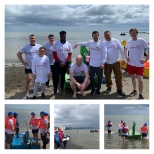 SalesSense team complete in the annual Blackrock raft race for the first time!
