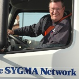 The SYGMA Network photo: Always on the lookout for good drivers.