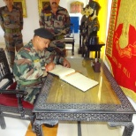 Indian Army photo: My last day in Indian army when i was signing off....