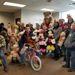 GEODIS photo: Toy Drive for the community at our Indy Campus