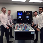 CDW photo: Lunchtime foosball at CDW UK