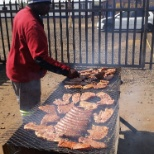 Braai held for teams on making target