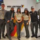 Our lovely team at Frankfurt Airport!