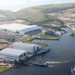 Austal USA ship manufacturing facility