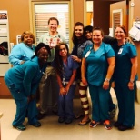 Spotsylvania Regional Medical Center photo: All smiles with our PCU staff for the Forth of July