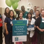 Celebrating our Most Improved Patient Scores recognition