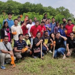 ADP India team planting 500 saplings in Pune.