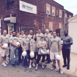 Enterprise Holdings photo: Many of our employees volunteer for Habitat for Humanity as part of group outreach initiatives.