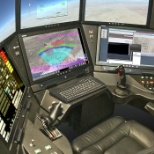 General Atomics and Affiliated Companies photo: GA-ASI's Advanced Cockpit Ground Control Station (GCS)