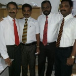 Along with colleagues