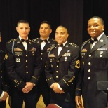 Leadership attending a Military Ball